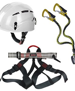 Alpidex-Kletterhelm-ARGALI-bright-white-Alpidex-Klettergurt-TAIPAN-red-pepper-Edelrid-Klettersteigset-Cable-Comfort-23-0