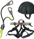 Alpidex-Kletterhelm-ARGALI-mountain-grey-Alpidex-Klettergurt-TAIPAN-red-pepper-Edelrid-Klettersteigset-Cable-Lite-23-0