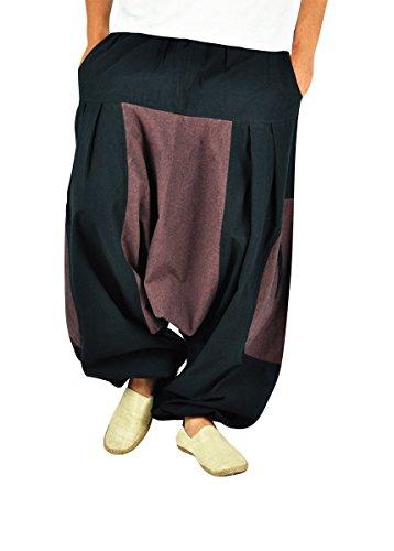 BONZAAI-Haremshose-Sommerhose-Harem-Pant-Aladinhose-Pumphose-Pluderhose-GOA-Hose-yoga-alternative-Bekleidung-Wasser-0-2