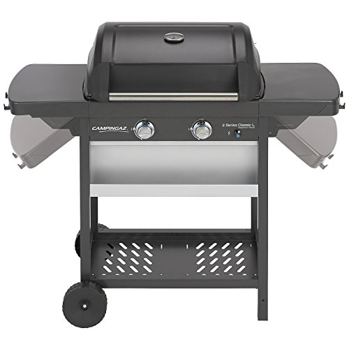 Campingaz-3000002371-Barbeque-2-Series-Classic-L-Gasgrill-inkl-Stahlwagen-schwarzsilber-60-x-35-x-87-cm-0-2