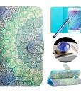 Etche-Schutzhlle-fr-HTC-One-M9-Hlle-HTC-One-M9-HandyHlle-Bunt-Muster-Flip-Case-HTC-One-M9-Tasche-Zeichnung-Gemalte-Malerei-Rose-Elefant-Blumen-Balloon-Vogel-Cartoon-Design-Leder-Hlle-Wallet-Schutzhlle-0