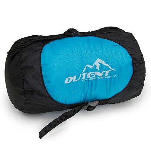 """buy popular 3d9b7 d6a99 Outent® Schlafsack """"Halifax"""" ultraleicht, mini 650 Gramm"""