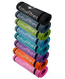 Portable-Fitnessmatte-Sharma-dick-und-weich-ideal-fr-Pilates-Gymnastik-und-Yoga-Mae-183-x-61-x-08cm-In-vielen-Farben-erhltlich-0