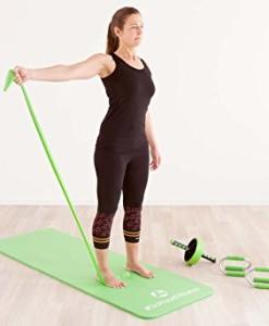 Portable-Fitnessmatte-Sharma-dick-und-weich-ideal-fr-Pilates-Gymnastik-und-Yoga-Mae-183-x-61-x-08cm-In-vielen-Farben-erhltlich-0-7