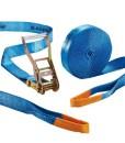 Slackstar-SL81792-20-Slackline-Set-basic-2teilig-fr-Kids-Anfnger-blau-20-m-Lnge-50-mm-Bandbreite-0