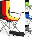 TecTake-Campingstuhl-Anglersessel-wasserabweisend-mit-Getrnkehalter-inkl-Tragetasche-Regiestuhl-diverse-Farben-0