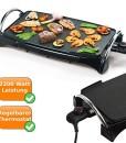 Teppanyaki-Bratplatte-Tischgrill-mit-2200Watt-schnelles-garen-Multigrill-mit-Hot-Zone-Bratzone-0