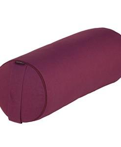 Yoga-und-Pilates-Bolster-BASIC-65-x--23-cm-Yoga-Hilfsmittel-mit-Dinkel-Hlsen-gefllt-verfgbar-in-7-Farben-Dinkelfllung-Yoga-Rolle-0