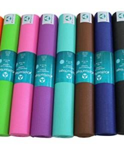 Yogamatte-Annapurna-Comfort-Die-ideale-bungs-Matte-fr-Yoga-Pilates-Gymnastik-Mae-183-x-61-x-05cm-In-vielen-Trend-Farben-erhltlich-0