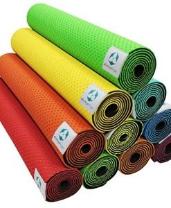 Yogamatte-Suri-Umweltfreundliche-und-hypo-allergene-TPE-Matte-weich-und-rutschfest-ideal-fr-alle-Yoga-Lehrer-und-Yogis-Mae-183-x-61-x-05cm-In-vielen-Farben-erhltlich-0