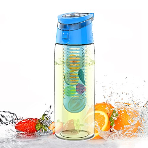 Avoin Colorlife Trinkflasche Für Fruchtschorlen Gemüseschorlen