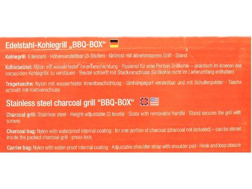 Esbit-Klappgrill-BBQ-Box-300S-gro-aus-Edelstahl-voll-zusammen-klappbar-0-5