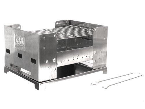 Esbit-Klappgrill-BBQ-Box-300S-gro-aus-Edelstahl-voll-zusammen-klappbar-0