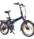 NCM-London-20-Zoll-ElektrofahrradE-FaltradE-BikePedelecKlapprad36V-250W-Bafang-Motor-36V-Li-Ion-Akku-mit-14Ah-PANASONIC-Zellendunkel-blauschwarz-0