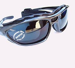 ALPLAND-SPORTBRILLE-Berge-Gletscher-Brille-fr-Ski-Sport-Kitesurfing-Radfahren-mit-Band-und-Gurt-Wechselhafte--Glas-silber-smoke-Spiegel-inkl-Softbag-0