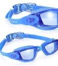 Aegend-verspiegelt-Schwimmbrille-kein-Auslaufen-Anti-Nebel-UV-Schutz-Triathlon-Schwimmbrille-verspiegelt-beschichtet-mit-frei-Schutz-Fall-fr-Erwachsene-Herren-Frauen-Youth-Kinder-Kind-schwarz-blau-0