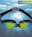 Experten-Schwimmbrille-von-Bezzee-Pro-Farbe-Objektiv-Glser-Antibeschlagbeschichtung-Wasserdicht-Anpassbar-Schwimmbrille-Schutzetui-Ohrstpsel-fr-Erwachsene-Mnner-Frauen-0-2