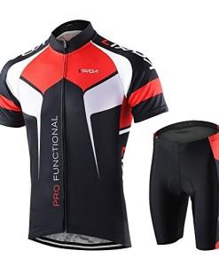 Lixada-Radtrikot-Kurzarm-Herren-Fahrradbekleidung-0