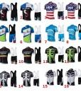 Mnner-Fahrrad-Club-Cycling-Team-Bekleidung-Jersey-Shirts-kurze-Hosen-Set-Sportbekleidung-0