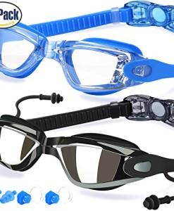 Schwimmen-Brillen-2-Stck-Schwimmen-Brille-Anti-Fog-UV-Schutz-fr-Erwachsene-Herren-Frauen-Youth-Kinder-Kind-hergestellt-von-cooloo-0