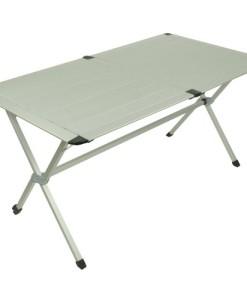 10T-AluTab-Campingtisch-140x80cm-fr-4-6-Personen-Roll-Up-Reise-Tisch-mit-Aluminium-Tischplatte-robuster-Gartentisch-mit-Packsack-Klapptisch-fr-Camping-Garten-Picknick-Grillen-0