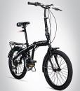 Bergsteiger-Windsor-20-Zoll-Faltrad-Klapprad-Shimano-6-Gang-Schaltung-LED-Batterie-Licht-Quick-Fold-System-Klappfahrrad-0