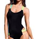 Damen-Badeanzug-LOBTY-Monokini-Badenmode-Tankini-Bikini-Push-Up-Neckholder-Triangel-Figurformend-Sportlich-Soft-Cup-Sexy-Bauchweg-Ausgefallen-Einteiler-0