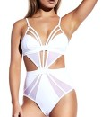 Damen-Badeanzug-LOBTY-Tankini-Monokini-Badenmode-Bikini-Push-Up-Neckholder-Triangel-Figurformend-Soft-Cup-Sexy-Sportlich-Ausgefallen-Einteiler-Wei-Bikini-Sets-0