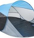 Relaxdays-Pop-up-Strandmuschel-HxBxT-90-x-200-x-120-cm-Wurfzelt-Kleines-Packma-Sonnenschutz-Verschiedene-Farben-0