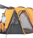 Royalbeach-Tunnelzelt-4-Personen-Zelt-Wasserdicht-4000mm-Wassersule-500x300x195cm-Camping-Outdoor-Familienzelt-Hhe-195cm-Gruppenzelt-Campingzelt-GrauOrange-0