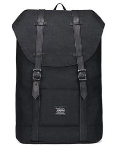 Rucksack-Damen-Herren-Vintage-KAUKKO-Reiserucksack-Studenten-Rucksack-Laptop-Rucksack-fr-14-Notebook-Lssiger-Daypacks-Schultaschen-fr-Wandern-Reisen-Camping-0