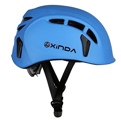 Sharplace-Damen-Herren-Kletterhelm-Klettersteighelm-Bergsporthelm-Bergsteigen-Schutzhelm-Kopfschutz-Helm-mit-Verstellbaren-Kinnriemen-mit-Schnalle-0-0