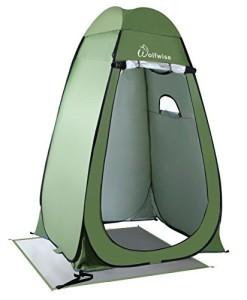WolfWise-Pop-up-Toilettenzelt-Umkleidezelt-Camping-Duschzelt-Outdoor-Umkleidekabine-Mobile-Toilette-mit-Abnehmbar-Zeltboden-und-Haube-Wasserfest-Tragbar-0