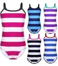 iiniim-Mdchen-Badeanzug-Einteiler-Streifen-Schwimmanzug-Tankini-Bikini-Badenmode-Tops-Gr92-164-0