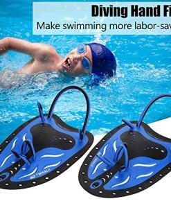 2-Farbe-Schwimmen-Tauchen-Hand-Flossen-Paddles-Webbed-Ausbildung-Fin-Tauchen-Ausrstung-ideal-zum-Schwimmen-Tauchen-Schnorcheln-und-so-weiter-0