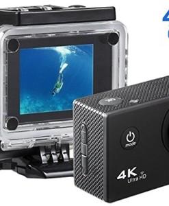 Action-Cam-Sainlogic-Unterwasser-Kamera-4KWIFI-Wasserdicht-Cam-16-MP-Ultra-FHD-Helmkamera-0