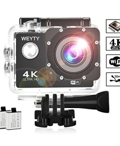 Action-Kamera-Weyty-Sports-Kamera-4K-Ultra-HD-Unterwasserkamera-16MP-170-Weitwinkel-WiFi-Fernbedienung-Action-cam-mit-2-wiederaufladbare-batterien-1350mAh-und-kostenlose-Accessoires-0