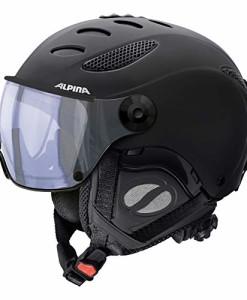 Alpina-Erwachsene-Jump-JV-VHM-Skihelm-Black-Matt-60-62-cm-0