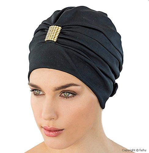 Fashy-Damen-Exkluisve-Badehaube-schwarz-One-Size-0