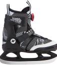 K2-Kinder-Schlittschuhe-Rink-Raven-Ice-Boa-Schwarz-Grau-25B020211-Eislaufschuhe-Ice-Skates-Eishockey-Schlittschuhe-Fitness-Verstellbar-0