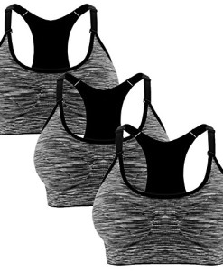 Libella-3er-Pack-Damen-Bustier-Bralette-Sport-BH-Wohlfhl-BH-Sportliche-Comfort-BH-Gepolsterter-Push-UP-Sttzfunktion-verstellbare-Trger-Ohne-Bgel-Yoga-Fitness-0
