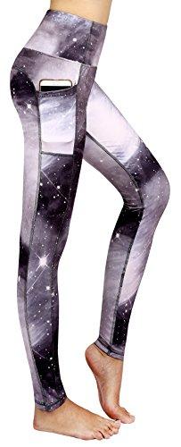 Munvot-Schne-Galaxy-Printed-Sporthose-Fitnesshose-Yoga-Leggings-Leggins-fr-Damen-YH01YH02YH03-0-1