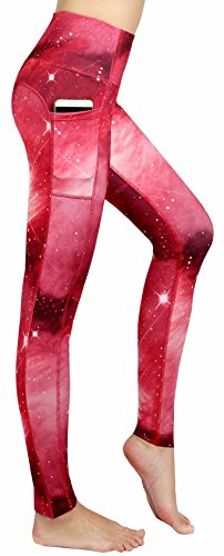 Munvot-Schne-Galaxy-Printed-Sporthose-Fitnesshose-Yoga-Leggings-Leggins-fr-Damen-YH01YH02YH03-0-2