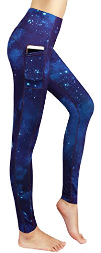 Munvot-Schne-Galaxy-Printed-Sporthose-Fitnesshose-Yoga-Leggings-Leggins-fr-Damen-YH01YH02YH03-0-5
