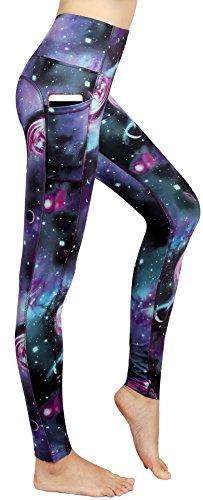 Munvot-Schne-Galaxy-Printed-Sporthose-Fitnesshose-Yoga-Leggings-Leggins-fr-Damen-YH01YH02YH03-0