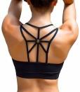 YIANNA-Damen-Sport-BH-Gepolstert-Elastizitt-Bustier-Yoga-BH-ohne-Bgel-Atmungsaktiv-Sports-Bra-Top-0