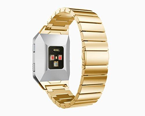 Armband-yustar-Fitness-Tracker-Accessoires-New-Ersatz-Edelstahl-Smart-Watch-Band-Armband-mit-Repair-Tool-fr-Fitbit-Ionic-Herzfrequenz-Tracker-0