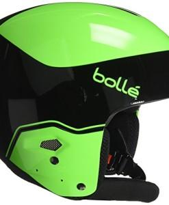 Boll-Erwachsene-Medalist-Skihelme-BlackFlash-Green-53-54-cm-0