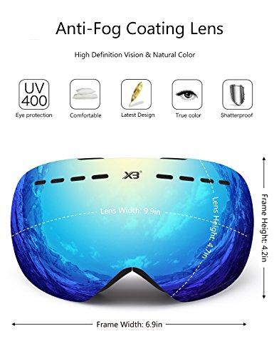 Skibrille-Herren-Damen-Snowboardbrille-Erwachsene-ber-Glser-OTG-rahmenlose-fr-Ski-Anti-Fog-von-Dada-pro-UV-Schutz-Sonnenbrille-0-1