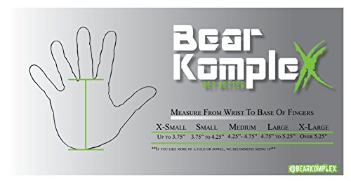 Bear-KompleX-3-Hand-Grips-and-Gymnastics-Grips-Great-for-Cross-Fitness-pullups-Weight-Lifting-Chin-ups-Training-Exercise-Kettlebell-More-Protect-Your-Palms-from-Rips-Carbon-0-2